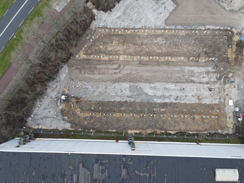 uitgraven fundering gestart 2021 01 05 03