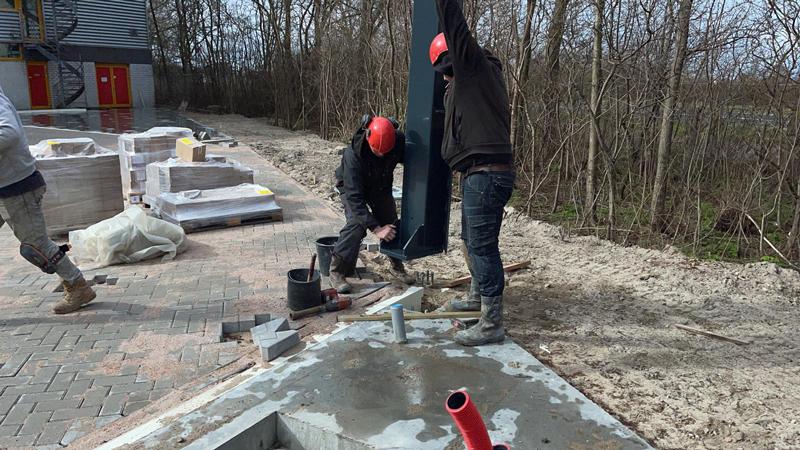 22 03 21 begin bouw staalconstructie 14