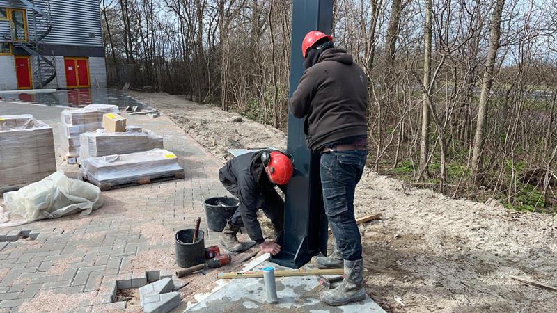 22 03 21 begin bouw staalconstructie 15