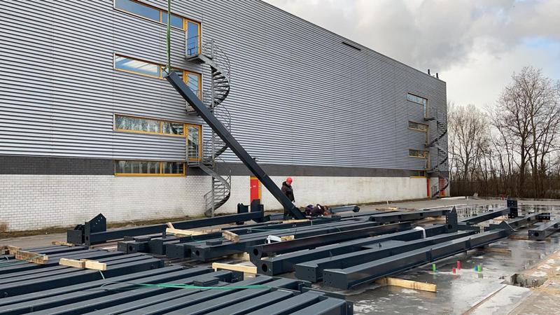 22 03 21 begin bouw staalconstructie 19