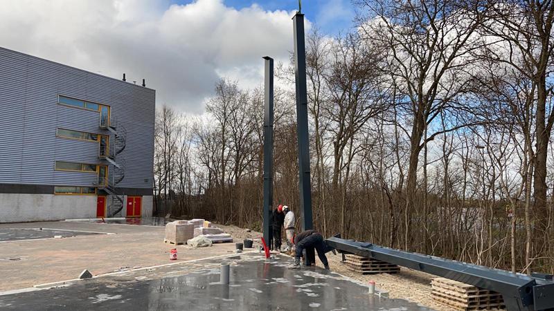22 03 21 begin bouw staalconstructie 21