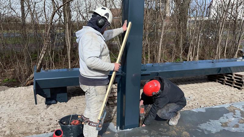 22 03 21 begin bouw staalconstructie 23