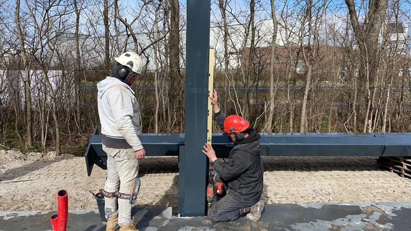 22 03 21 begin bouw staalconstructie 24