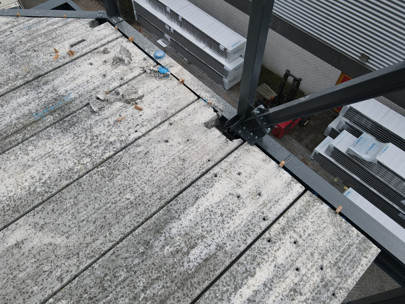 13 04 21 plaatsen betonplaten verdiepingsvloer 30