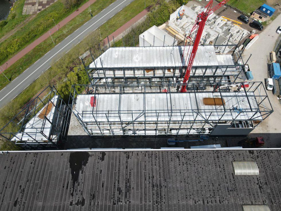 11 05 21 aanbrengen staal 2de verdieping 04
